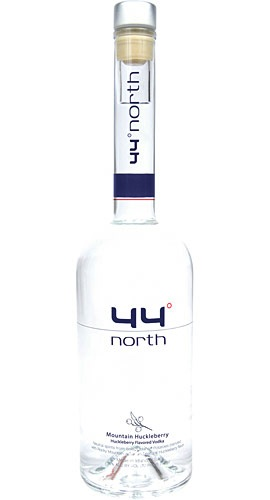 44º North Mountain Huckleberry Flavored Vodka