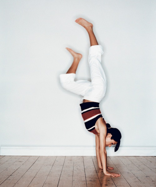 I will master you handstand!