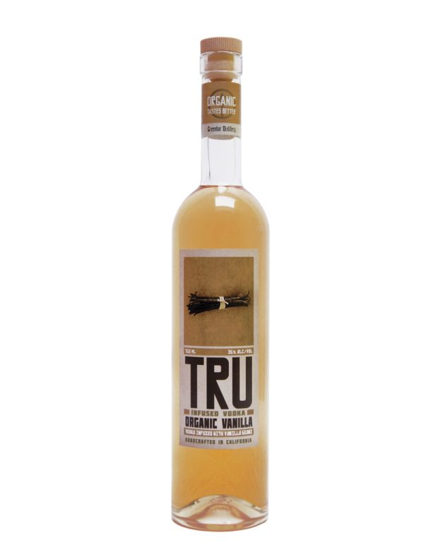 Tru Organic Vanilla Vodka - smooth and slightly sweet!
