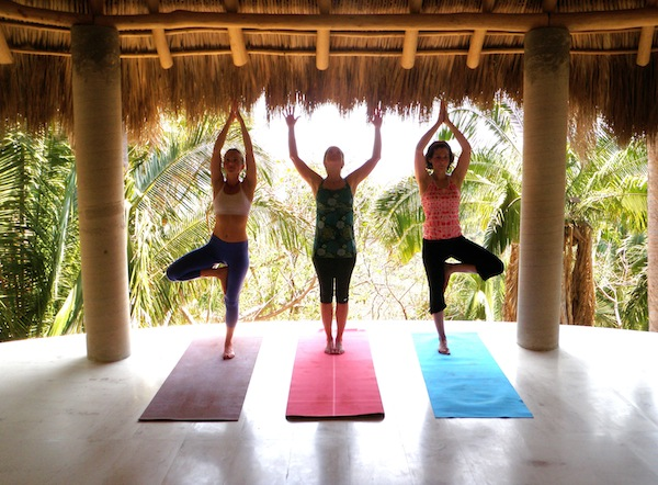 First thing on my new fitness bucket list: Go on a yoga retreat