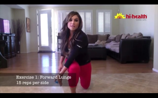 lunge at home 2