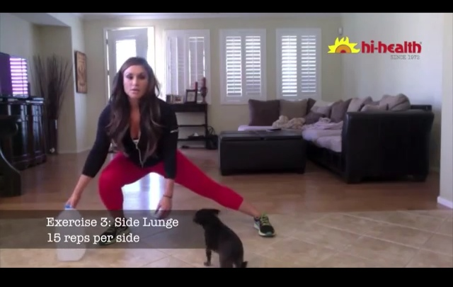 lunge at home 4