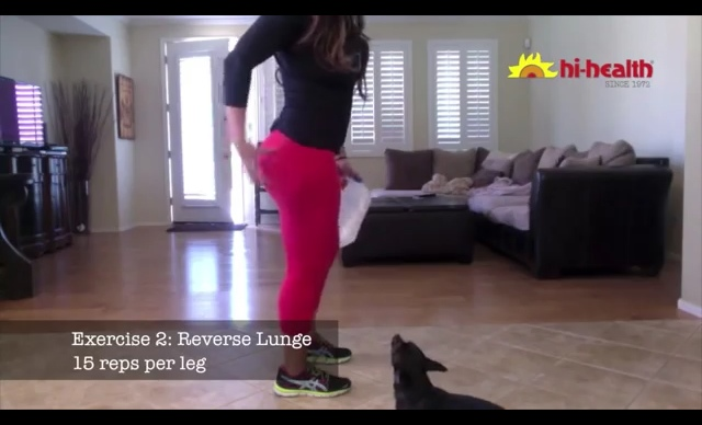 lunge at home 5