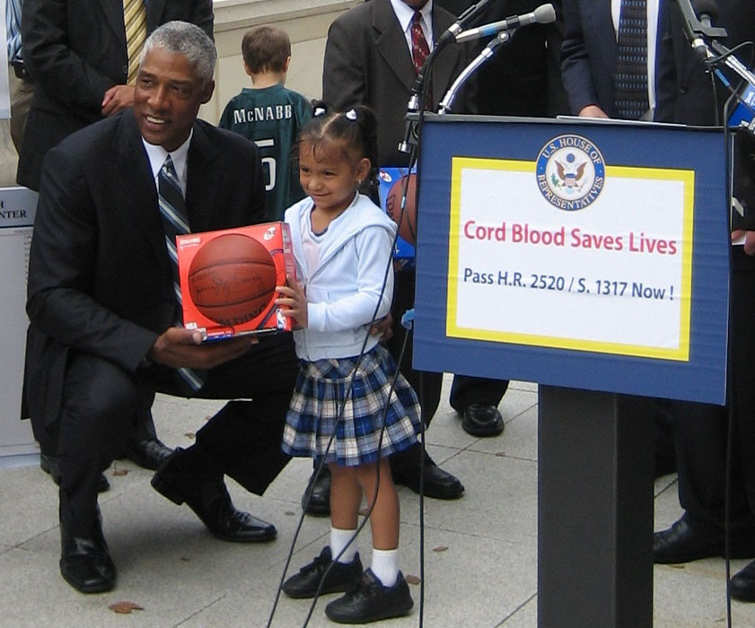 Julius Supporting Cord Blood Legislation in Washington