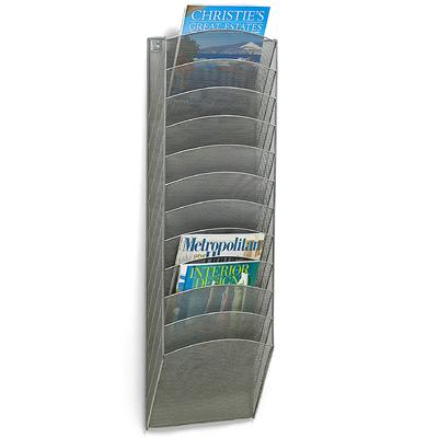 12-Pocket Mesh Wall Rack