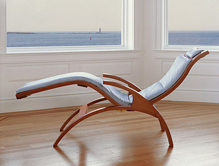 Thos Moser Redefines The Chaise