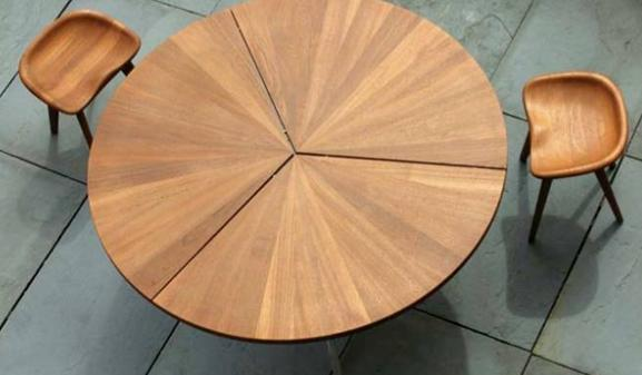 The Circle Table By Design Duo Craig Bassam And Scott