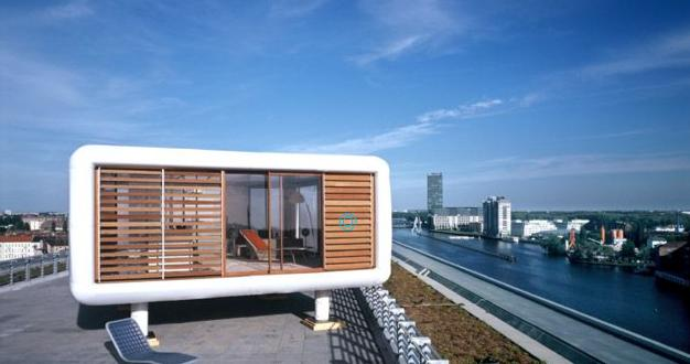 The loft cube is unique way to make use of unused space for Modular homes with lofts