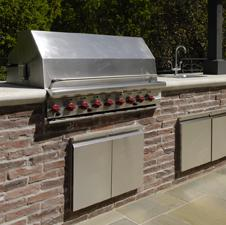 Create your new outdoor kitchen with eldorado stone 39 s for Eldorado outdoor cabinets