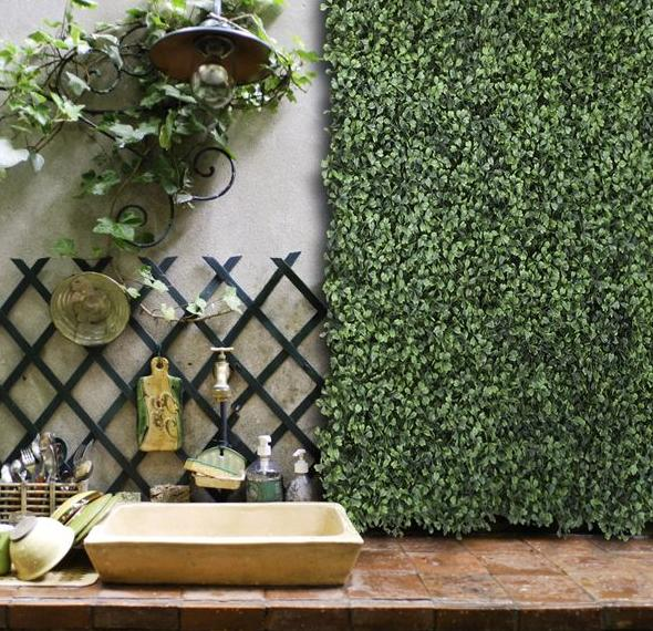 spruce up your outdoor areas with artificial plants that look real