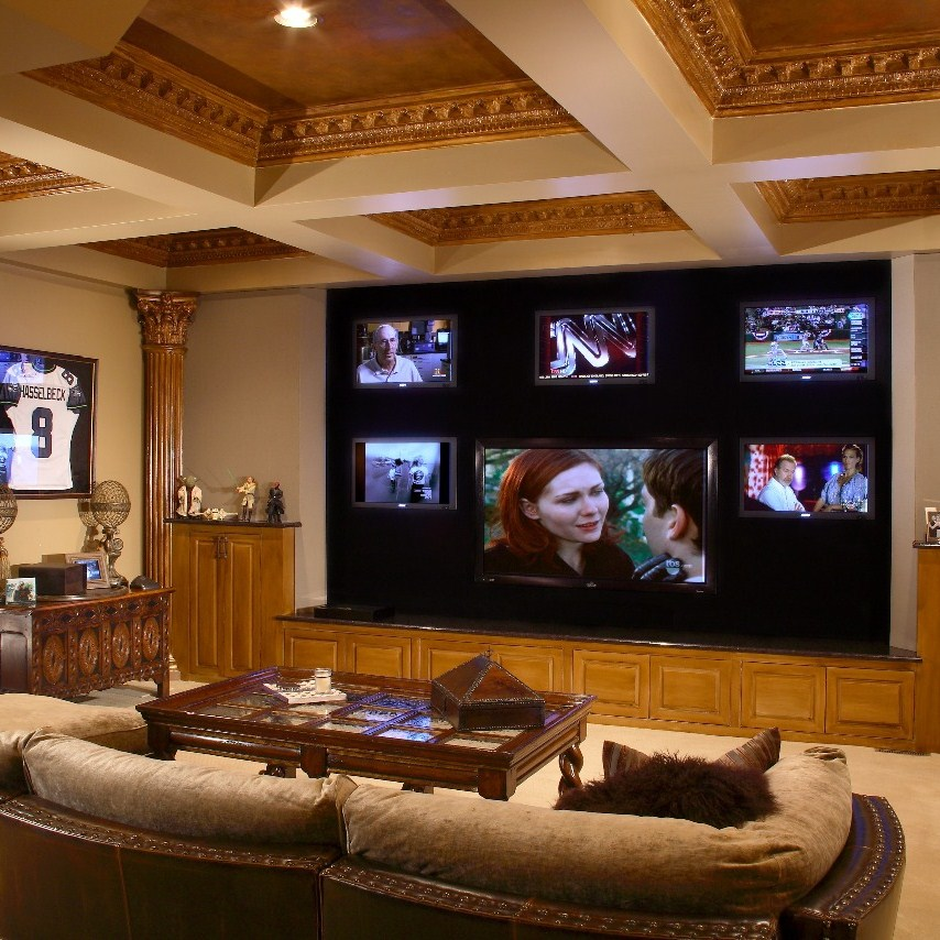 Jbl Synthesis Home Theater System Is The Choice For Rascal Flatts Musician 39 S Home